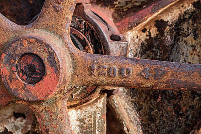Photograph - Industrial Patina by Sandra Selle Rodriguez