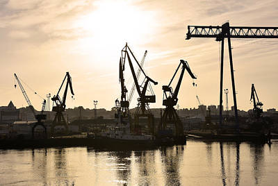 Photograph - Industrial Port Huelva Spain by Marek Stepan