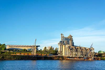 Moda Photograph - Industrial Portland Waterfront by Jess Kraft