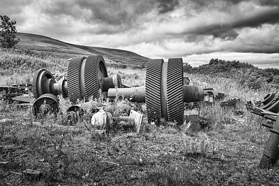 Photograph - Industrial Relics by Christopher Rees