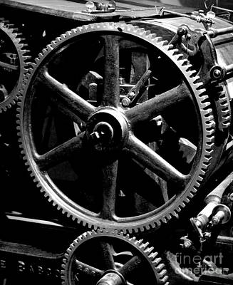 Photograph - Industrial Revolution Bw 1 by Chalet Roome-Rigdon
