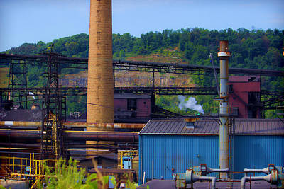 Photograph - Industrial Sight by Roberta Byram