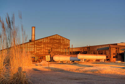 Industrial Site 1 Art Print by Douglas Barnett