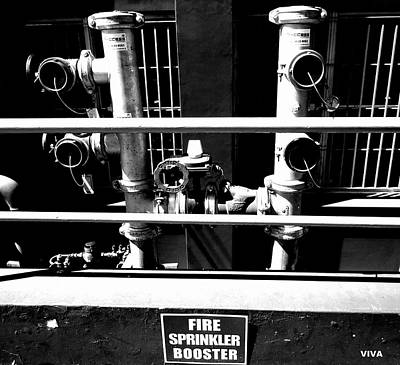 Photograph - Industrial Suite 5 by VIVA Anderson