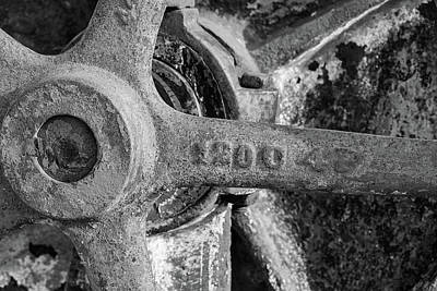Photograph - Industrial Wheel by Sandra Selle Rodriguez