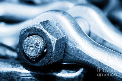 Group Photograph - Industrial Wrench Spanner In Workshop by Michal Bednarek