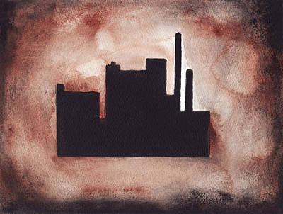 Painting - Industry City by Ron Erickson