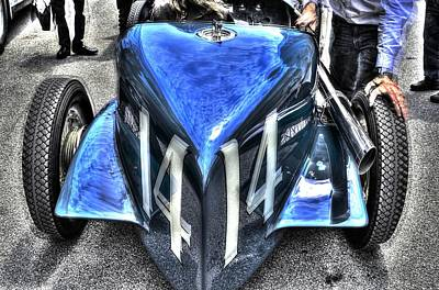 Indy Car Photograph - Indy 500 Winning Car Abstract  by Josh Williams