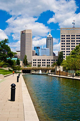 Photograph - Indy Canal by David Haskett II