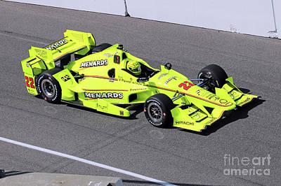 Indy Car Simon Pagenaud Art Print