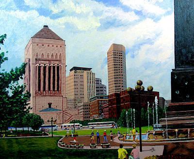 Indy Festival Art Print by Stan Hamilton