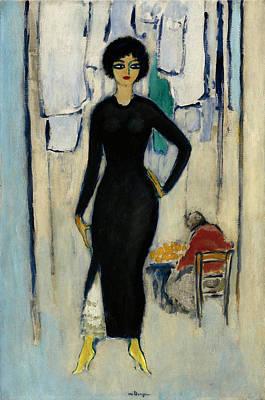 Van Dongen Painting - Ines Napoli by Kees van Dongen