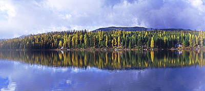 Art Print featuring the photograph Inez Lake Montana by Janie Johnson