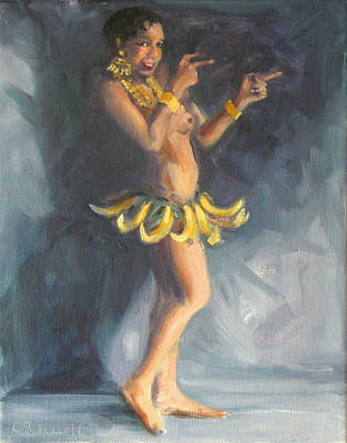 Painting - Infamous Banana Skirt by Connie Schaertl