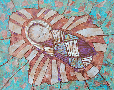Carol Cole Painting - Infant Jesus by Carol Cole
