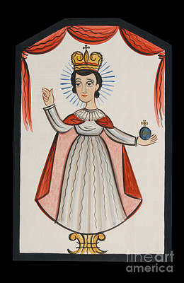 Painting - Infant Of Prague - Aoiop by Br Arturo Olivas OFS
