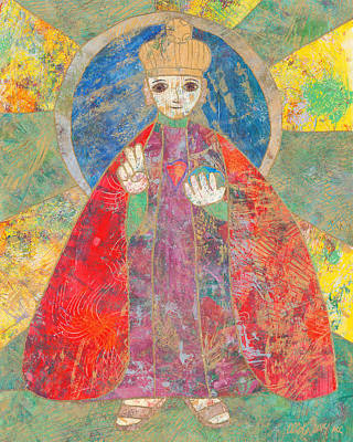 Carol Cole Painting - Infant Of Prague by Carol Cole