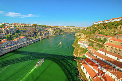 Photograph - Infante Bridge Oporto by Benny Marty