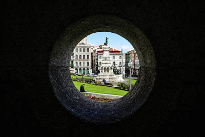 Infante Dom Henrique Square Art Print by Marco Oliveira