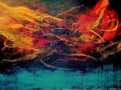 Painting - Inferno 2 by Michaelalonzo Kominsky