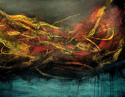 Painting - Inferno 4 by Michaelalonzo Kominsky
