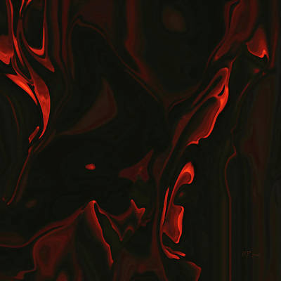 Painting - Inferno by Bamalam  Photography