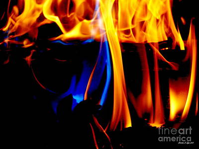 Photograph - Inferno Iv by Christine Zipps