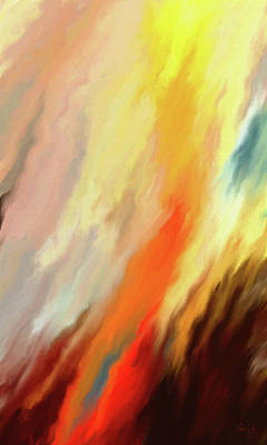 Digital Art - Inferno by Matt Lindley