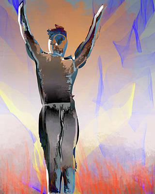 Digital Art - Inferno Survivor by Eduardo Tavares