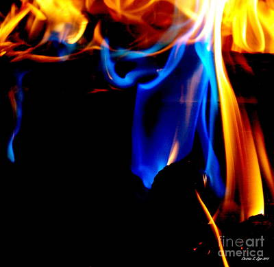 Photograph - Inferno V by Christine Zipps