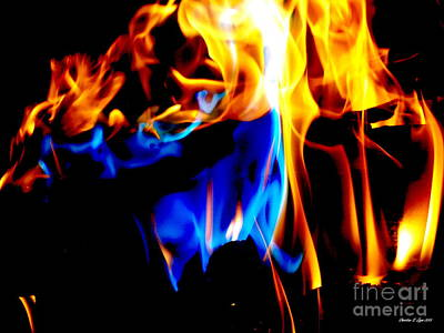 Photograph - Inferno Vi by Christine Zipps