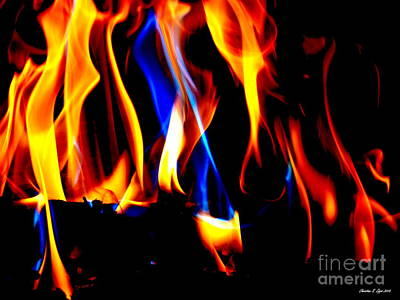 Photograph - Inferno Vii by Christine Zipps