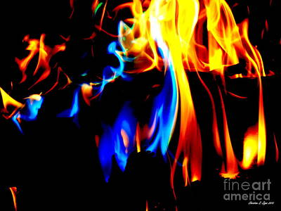 Photograph - Inferno Viii by Christine Zipps