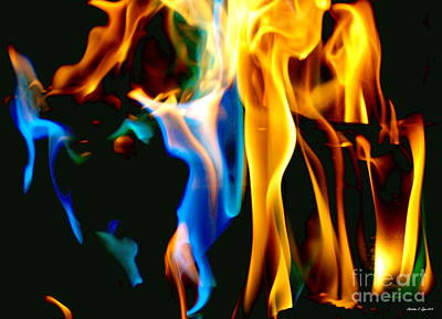 Photograph - Inferno Xvii by Christine S Zipps
