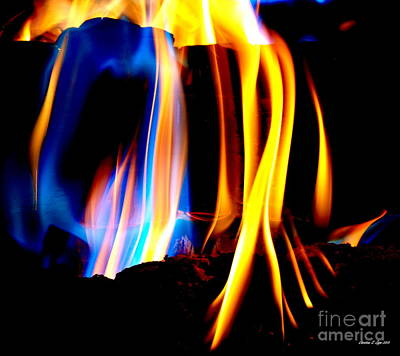 Photograph - Inferno Xviii by Christine S Zipps