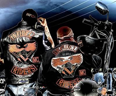 Photograph - Infidel Riders Mc by Gus McCrea