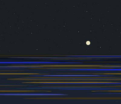 Digital Art - Infinite Ocean View by Val Arie