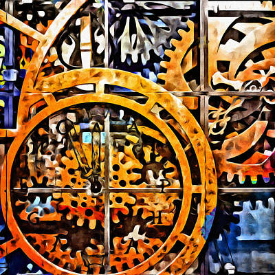 Mixed Media - Infinite Workings by Glenn McCarthy Art and Photography