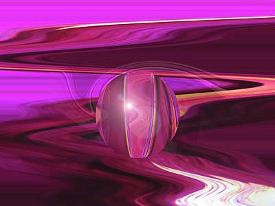 Infinity And Beyond - Abstract Iris Photography Art Print