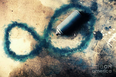 Paint Cans Photograph - Infinity And Forever  by Jorgo Photography - Wall Art Gallery