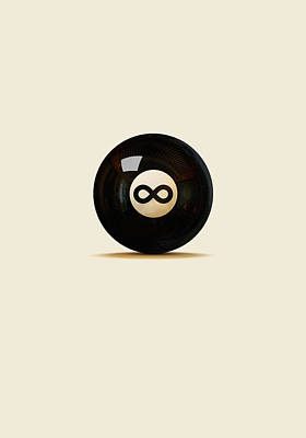 Infinity Ball Art Print by Nicholas Ely