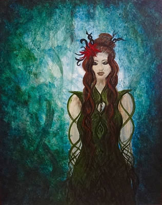 Painting - Infinity Goddess by Michelle Pier