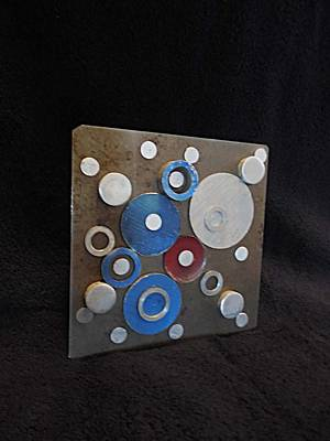 Disc Mixed Media - Infinity by Jim Ramirez