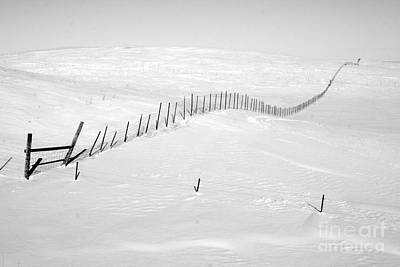 Snow Drifts Photograph - Infinity by Julie Lueders