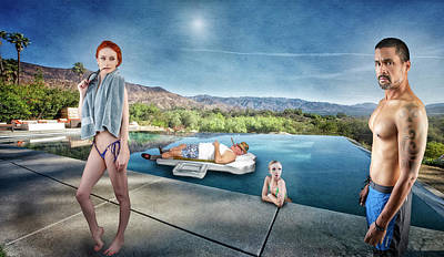 Photograph - Infinity Pool #5 by David Palmer