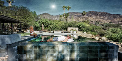 Photograph - Infinity Pool #6 by David Palmer