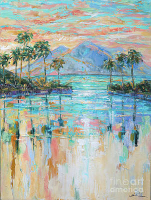 Painting - Infinity Pool II by Linda Olsen