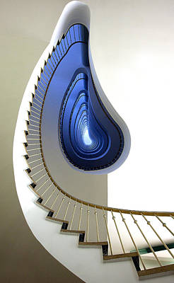 Spiral Wall Art - Photograph - Infinity Steps by Martin Widlund