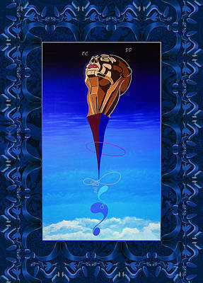 Painting - Infinitys Dream by Robert Kernodle