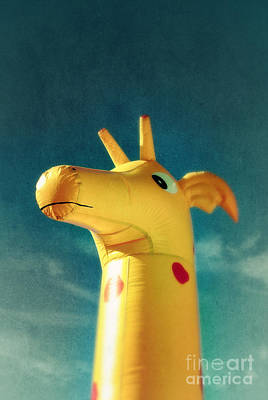 Inflatable Toy Art Print by Carlos Caetano